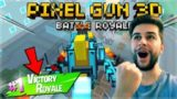CHALLENGE HUNTER!! COMPLETING BATTLE PASS BATTLE ROYALE! | Pixel Gun 3D