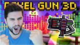 FREE LEGENDARY CYBER REVOLVER IS THE HEADSHOT HUNTER! REVIEW | Pixel Gun 3D