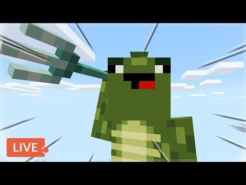 [LIVE] PREPARING FOR THE ENDERDRAGON! Skytrade Minecraft SKYBLOCK Survival (37)