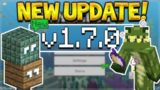 MCPE 1.7 UPDATE  – Minecraft Pocket Edition – NEW Server & Changes! (Pocket, Xbox, PC, Switch)