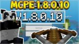 MCPE 1.8.0.10 BETA CROSSBOW! – Minecraft Crossbow Weapon & Pandas (MCPE, Xbox, PC, Switch)