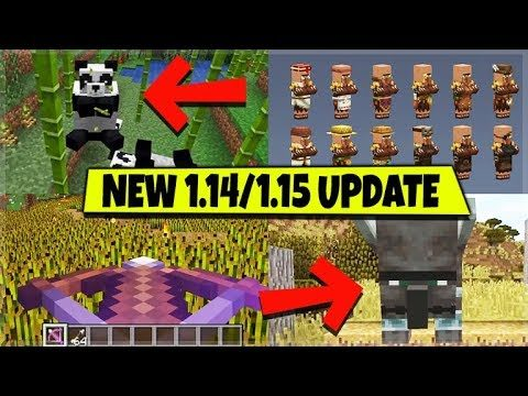 Minecraft 1.14 & 1.15 – Village & Pillage Update ALL FEATURES Explained! (NEXT BIG UPDATE)