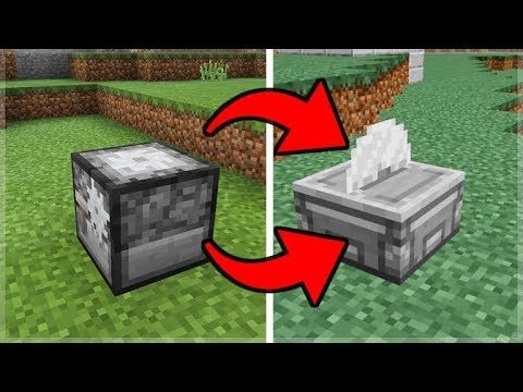 Minecraft 1.14 Update – Minecraft PE STONECUTTER RETURNS To The Game!