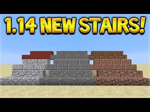 Minecraft 1.14 UPDATE – NEW Stairs & Walls Coming! Andesite, Granite, Diorite Preview
