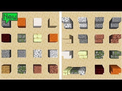 Minecraft 1.14 Update – NEW Village & Pillage Over 40 New Blocks Showcase