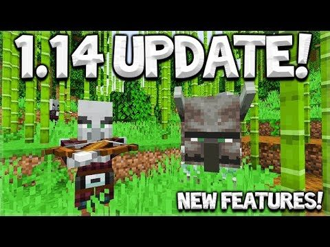 Minecraft 1.14 Update – NEW Village & Pillage First Look!