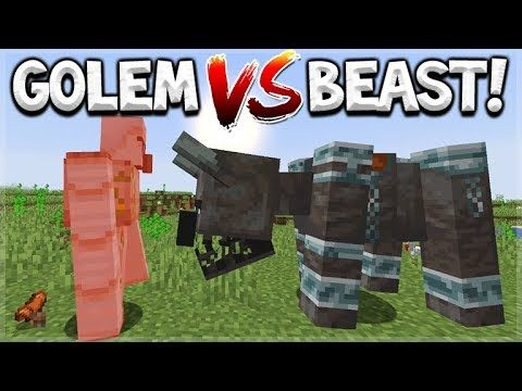 Minecraft 1.14 Update – Pillager Beast Vs Iron Golem – Everything You Need To Know