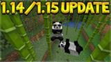 Minecraft 1.14/1.15 – Village & Pillage Update REVEALED! New Panda Mob