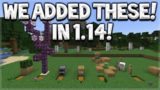 Minecraft Added 6 Features Community Suggested Features in Minecraft 1.14 Village & Pillage Update