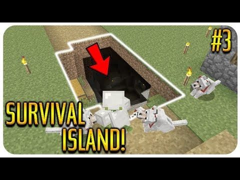 MINECRAFT – SURVIVAL ISLAND – I CAN'T BELIEVE THIS HAPPENED Episode 3