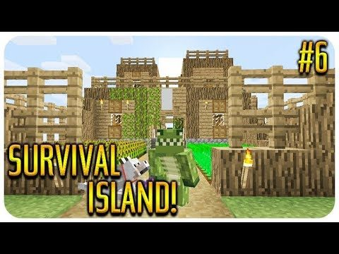 ✅ MINECRAFT – SURVIVAL ISLAND – THE ANIMAL SHELTER Episode 6