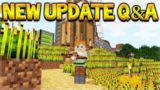 New Minecraft Update – Grapple Enchantment & Guard Villagers Q&A