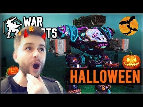 OMG! NEW HALLOWEEN UPDATE! INSANE NEW SKINS, WEAPONS AND MAPS! | War Robots