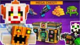 SCARY HALLOWEEN SUPER CHEST OPENING! NEW PETS, WEAPONS & MAPS! | Pixel Gun 3D