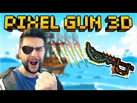 THE CURSED PIRATE SPECIAL WEAPON IS AMAZING! OP CRAFTABLE WEAPON | Pixel Gun 3D