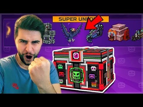 THE HUNT FOR THE MYTHICAL RAVEN PET! HALLOWEEN SUPER CHEST OPENING! | Pixel Gun 3D