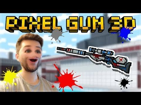 THIS IS THE WORST SNIPER IN THE GAME! PAINTBALL RIFLE! | Pixel Gun 3D