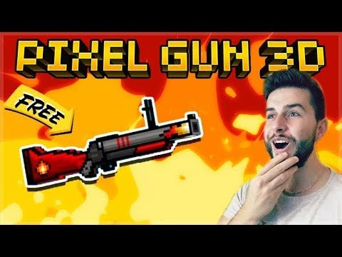 THIS WEAPON IS FREE AND SUPER FUN TO USE! LEGENDARY FIRE-STARTER | Pixel Gun 3D