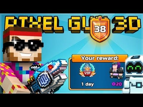 COMPLETING THE BATTLE PASS CHALLENGES! RANKING UP TO LEVEL 50! | Pixel Gun 3D