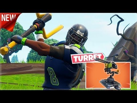 Fortnite: NEW TURRET HYPE! // CROSSPLAY SQUADS // (iOS, Android, Xbox, PS4, Switch!)
