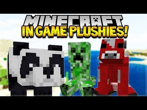 HOW TO GET CUTE PLUSHIE MOB TOYS IN Minecraft Pocket Edition (iOS, Xbox, Switch, PC)