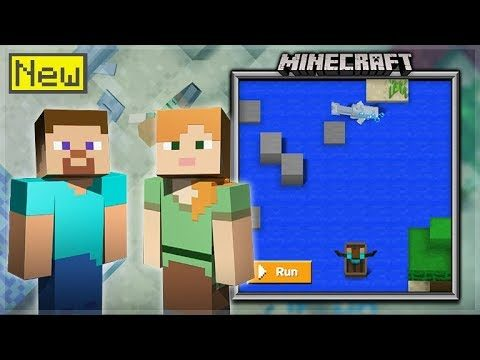 I CODED MINECRAFT! – HOW TO CODE MINECRAFT IN UNDER 1 HOUR – Minecraft Hour Of Code