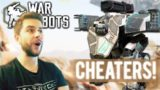 I FOUND CHEATERS AND STILL DESTORYED THEM! & LVL 25 RANK UP! | War Robots