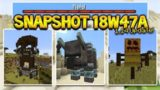 MINECRAFT 1.14 – NEW PILLAGER RAIDS! PILLAGER OUTPOSTS & MORE! (Snapshot 18w47a)