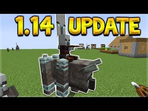 Minecraft 1.14 Update – NEW Illager Patrols first Look (Village & Pillage Update)