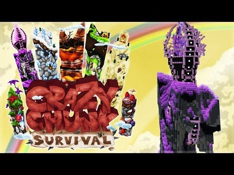 ✅ MINECRAFT – CRAZY CHUNK SURVIVAL! – Let's Explore!