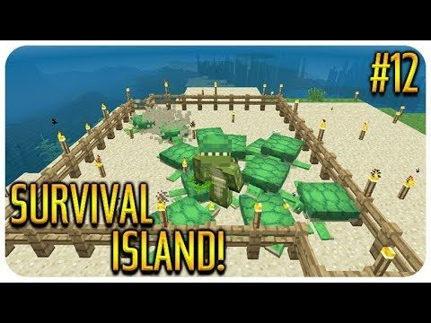 ✅ MINECRAFT – SURVIVAL ISLAND – THE DIAMOND HUNT! Episode 12