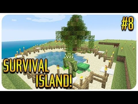 ✅ MINECRAFT – SURVIVAL ISLAND – THE DROWNED XP FARM! Episode 8