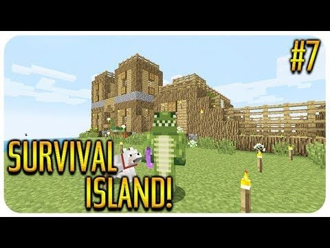 ✅ MINECRAFT – SURVIVAL ISLAND – TREASURE MAP HUNT! Episode 7