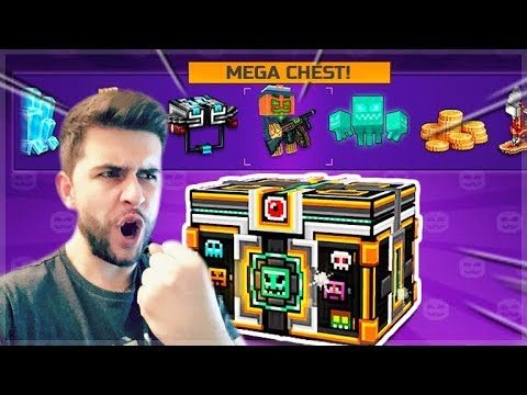 MY LAST EVER HALLOWEEN SUPER CHEST OPENING!! MEGA SUPER LOTTERY CHEST! | Pixel Gun 3D