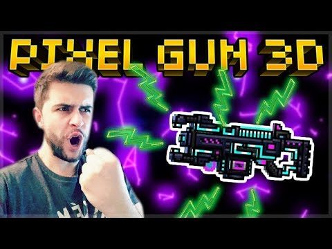 MYTHICAL NEON LIGHTNING SPECIAL BATTLE PASS WEAPON! | Pixel Gun 3D