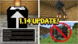 NEW LANTERN LIGHTS ADDED! illager Beast Removed, Mystery Block (Minecraft 1.14 Snapshot Update)