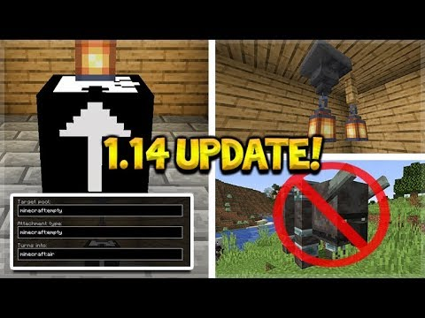 NEW LANTERN LIGHTS ADDED! illager Beast Removed, Mystery Block