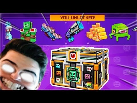 OMG! BEST SUPER CHEST CRATE OPENING YET! WE UNLOCKED SO MANY THINGS! | Pixel Gun 3D