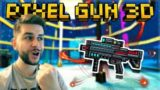 SLICING UP THE ENEMY PLAYERS! LEGENDARY CYBER SLICER REVIEW | Pixel Gun 3D