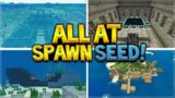 THE BEST EVER STARTER SEED! Minecraft Survival Island! (Pocket Edition, Xbox, Switch)