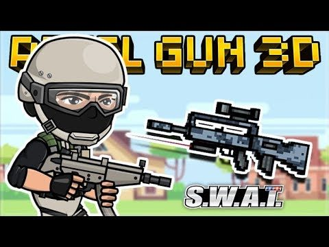 THEY MADE THIS THE BEST PRIMARY WEAPON IN THE GAME! OP SWAT RIFLE! | Pixel Gun 3D