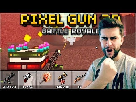 YOU CAN ONLY USE DEFAULT WEAPONS! HARDEST CHALLENGE YET! BATTLE ROYALE | Pixel Gun 3D