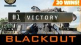 ✅BLACKOPS 4 BLACKOUT – MAP UPDATE! 20+ WINS COD BATTLE ROYALE! Xbox One X