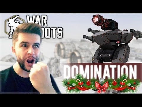 COOL NEW FESTIVE UPDATE! CARRYING MY TEAM TO DOMINATION VICTORY'S! | War Robots