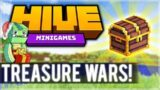 DESTROYING EVERYONE! 1.8 MCPE HIVE SERVER! – Treasure Wars Duos (iOS, Xbox, Switch, PC)