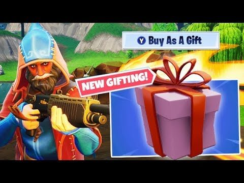 ✅Fortnite: GIFTING ADDED & NEW SHOTGUN! // CROSSPLAY SQUADS // (iOS, Android, Xbox, PS4, Switch!)