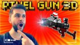 HEADSHOT HUNTING USING MY OFFICIAL SNIPER IN THE GAME SNAP ATTACKER! | Pixel Gun 3D