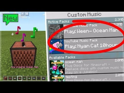 How To Install Custom Music & Songs In Minecraft Pocket Edition (Easy Tutorial)