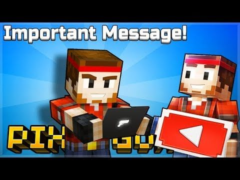 IMPORTANT MESSAGE FROM THE PIXEL GUN 3D DEVELOPERS MUST WATCH!