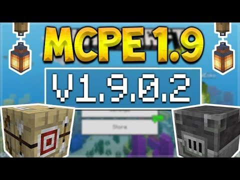 MCPE 1.9 BETA NEW CRAFTING TABLES! Minecraft Pocket Edition – NEW Furnaces & Lanterns Added